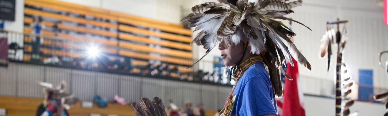 Campus Pow Wows are one of many events put on by the Native American Advisory Council at GVSU.